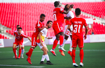 I-League 2018-19 WATCH HIGHLIGHTS: Poor refereeing taints Aizawl's 3-2 victory over East Bengal