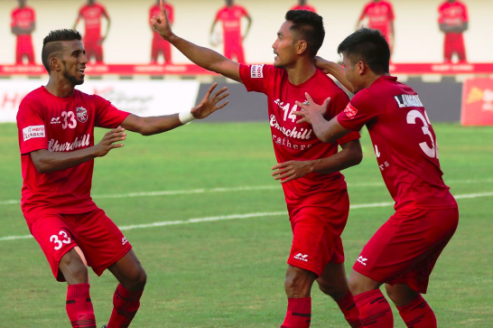 I-league 2018-19 -- Churchill Brothers fire up against Aizawl FC, register a dominant 4-1 win