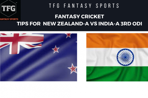 TFG Fantasy Sports: Fantasy Cricket tips for New Zealand-A v India-A 3rd ODI