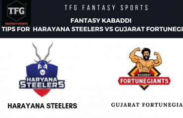 TFG Fantasy Sports: Fantasy Kabaddi tips for Harayana Steelers vs Gujarat Fortune Giants -- Pro Kabaddi