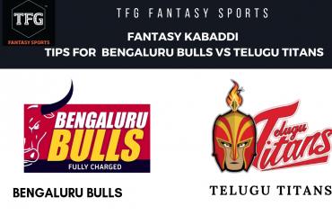 TFG Fantasy Sports: Fantasy Kabaddi tips for Bengaluru Bulls vs Telugu Titans -- Pro Kabaddi
