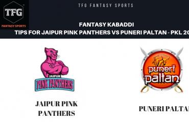 TFG Fantasy Sports: Fantasy Kabaddi tips for Puneri Paltan vs Jaipur Pink Panthers