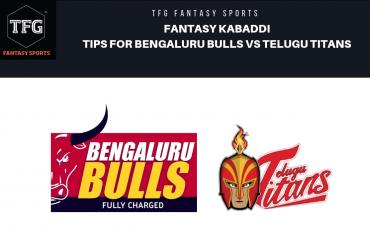 TFG Fantasy Sports: Fantasy Kabaddi tips for Telugu Titans vs Bengaluru Bulls -- Pro Kabaddi League