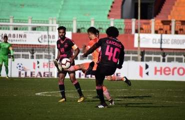 Minerva Punjab FC and Neroca FC played out an exciting draw, to deny both a chance to improve their league standings
