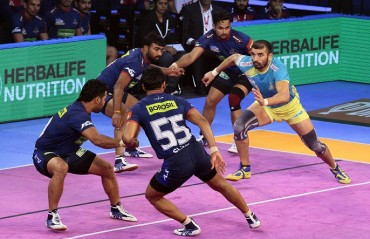 Tamil Thaliavas and Haryana Steelers played out an exciting 40-40 tie in Vivo Pro Kabaddi League season 6