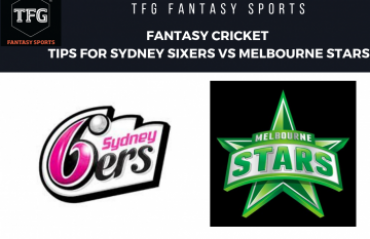 TFG Fantasy Sports: Fantasy Cricket tips in Hindi for Sydney Sixers vs Melbourne Stars -- BBL-08