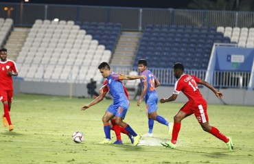 Blue tigers held to a goalless draw by mighty Oman