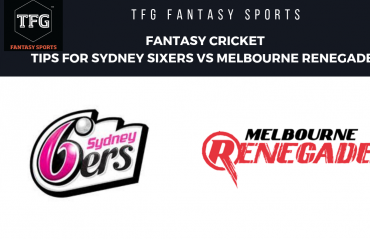 TFG Fantasy Sports: Fantasy Cricket tips for Melbourne Star vs Sydney Sixers -- BBL08