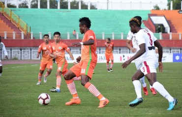 Manipur's Neroca FC notched up two goals to earn a victory against Kolkata giants and former champions Mohun Bagan