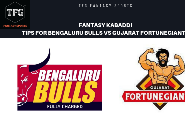 TFG Fantasy Sports: Fantasy Kabaddi tips for Qualifier 1 - Bengaluru Bulls vs Gujarat FortuneGiants