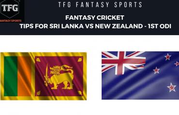 TFG Fantasy Sports: Fantasy Cricket tips for New Zealand v Sri Lanka 1st ODI
