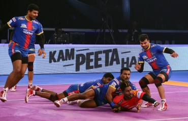 Gujarat Fortunegiants enter the final of Pro Kabaddi League, beat UP Yoddha 38-31