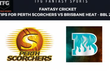 TFG Fantasy Sports: Fantasy Cricket tips in Hindi for Perth Scorchers v Brisbane Heat BBL 08