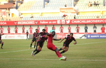 Anthony Wolfe brace propels Churchill Brothers to third on Hero I-League table