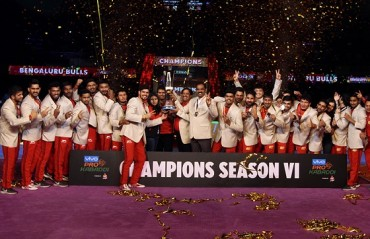 Bengaluru Bulls crowned champions, beat Gujarat Fortunegiants 38-33 in the final