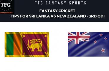 TFG Fantasy Sports: Fantasy Cricket tips for New Zealand v Sri Lanka 3rd ODI