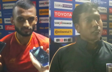 TFG Unplugged -- Midfielder Pronay Halder, assistant coach Shanmugam Vengkatesh preview India vs UAE in AFC Asian Cup 2019