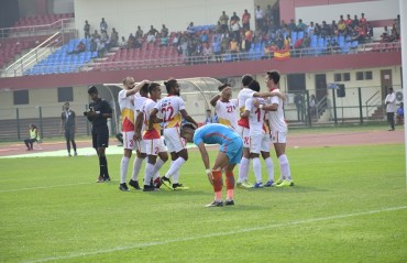 Quess East Bengal won a hard-fought game defeating the young Indian Arrows 1-2 in the 60th game of the 12th Hero I-League