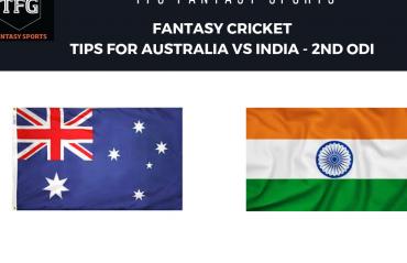 TFG Fantasy Sports: Fantasy Cricket tips for Australia v India--2nd ODI