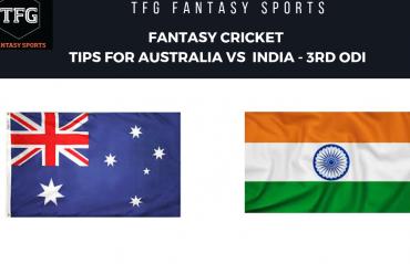 TFG Fantasy Sports: Fantasy Cricket tips for Australia v India--3rd ODI