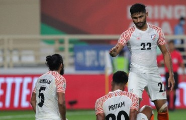 We will definitely be going to miss Anas the player, and the personality -- Sunil Chhetri