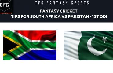 TFG Fantasy Sports: Fantasy Cricket tips for South Africa v Pakistan 1st ODI