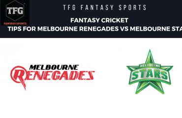 TFG Fantasy Sports: Fantasy Cricket tips for Melbourne Renegades vs Melbourne Stars -- Big Bash 08
