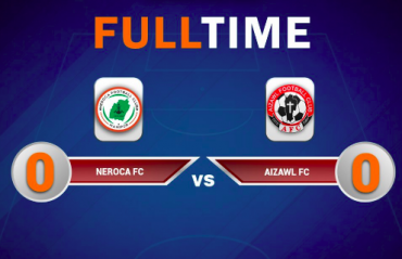 I-league 2018-19 -- 10 man NEROCA settle for a nervy goalless draw with Aizawl FC