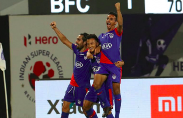 ISL 2018-19 -- Bengaluru FC get back to winning ways with a 2-1 victory over NEUFC
