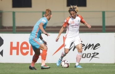 Thriller at Bhubaneswar as late penalty gets a 2-3 win for NEROCA over Arrows