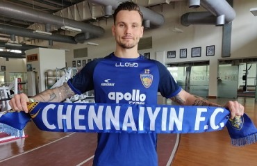 Former Aston Villa player Christopher Herd signs for Chennaiyin FC