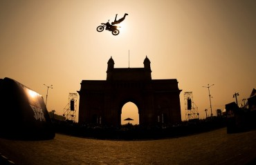 Red Bull FMX Jam at the iconic Gateway of India