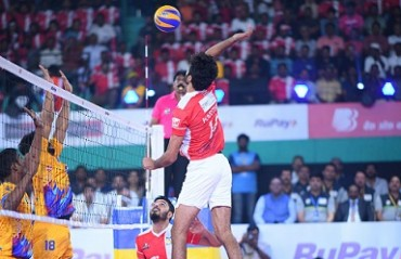 Calicut Heroes dominate Chennai Spartans 4-1 on Day 2 of RuPay Pro Volleyball League