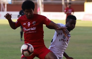 I-League: Churchill secure 1-1 draw courtesy Wolfe penalty against Mohun Bagan