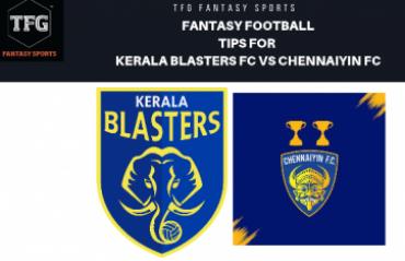 TFG Fantasy Sports: Fantasy Football tips in Hindi for Kerala Blasters vs Chennaiyin FC - ISL