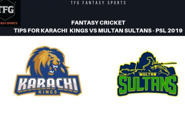 TFG Fantasy Sports: Fantasy Cricket tips for Karachi Kings v Multan Sultans PSL T20