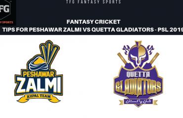 TFG Fantasy Sports: Fantasy Cricket tips for Peshawar Zalmi v Quetta Gladiators