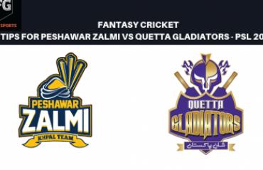 TFG Fantasy Sports: Fantasy Cricket tips in Hindi for Peshawar Zalmi v Quetta Gladiators
