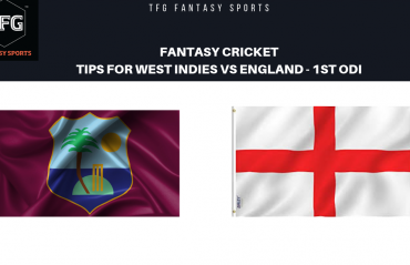 TFG Fantasy Sports: Fantasy Cricket tips for West Indies v England --1st ODI