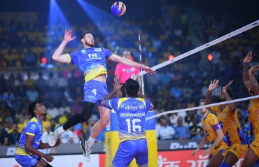 Chennai Spartans defeat Kochi Blue Spikers to enter the final of RuPay Pro Volleyball League