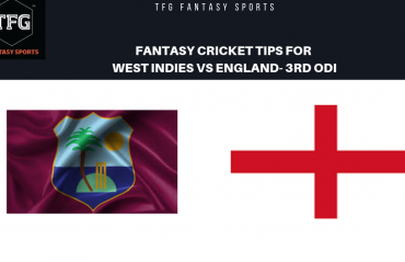 TFG Fantasy Sports: Fantasy Cricket tips for West Indies v England --3rd ODI