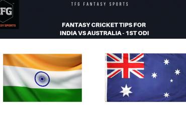 TFG Fantasy Sports: Fantasy Cricket tips for India v Australia 1st ODI