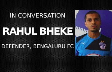EXCLUSIVE -- Rahul Bheke vows to win ISL for Bengaluru FC, eyes national team spot