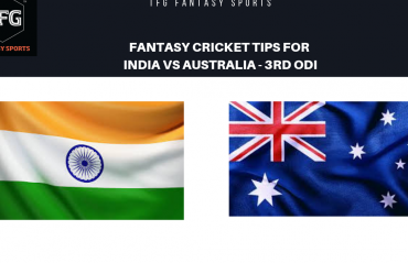 TFG Fantasy Sports: Fantasy Cricket tips for India v Australia 3rd ODI