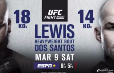 UFC FIght Night 146 Wichita PREVIEW -- Derrick Lewis, Junior Dos Santos in potential title eliminator