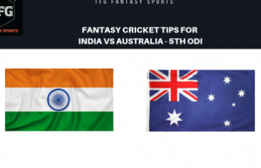TFG Fantasy Sports: Fantasy Cricket tips in Hindi for India v Australia 5th ODI
