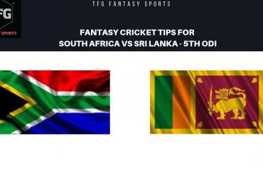 TFG Fantasy Sports: Fantasy Cricket tips for South Africa v Sri Lanka fifth ODI