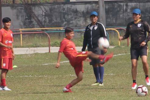 TFG Unplugged - Indian Women's Team return to practice at SAFF Women's Championship