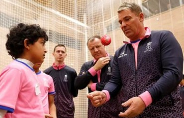Rajasthan Royals launches its foremost Cricket Academy in the United Kingdom