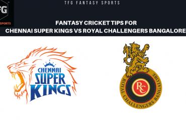 TFG Fantasy Sports: Stats & Facts for Chennai Super Kings v Royal Challengers Bangalore IPL T20